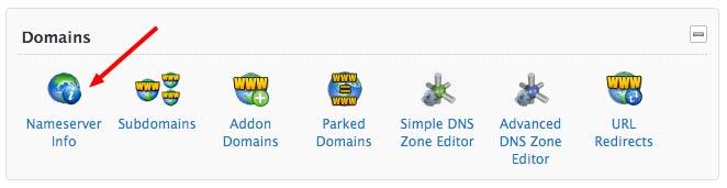 Nameserver Info CPanel